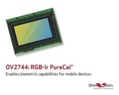 Датчик изображения OmniVision OV2744 позволяет наделить ноутбуки и мобильные устройства биометрическими возможностями