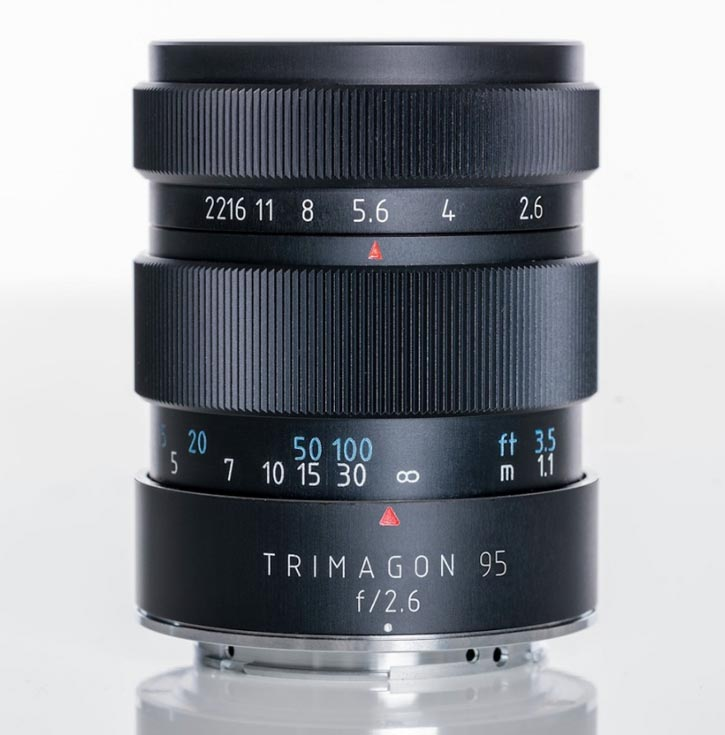 Объектив Meyer-Optik-Gorlitz Trimagon F2,6 95MM планируется выпускать в вариантах с креплениями Canon, Nikon, Fujifilm X, Sony E, MFT, M42 и Leica M