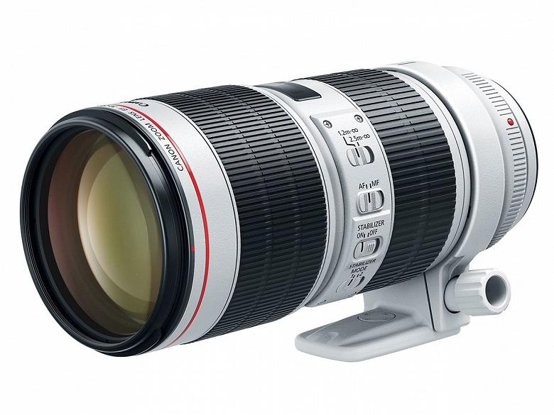 Представлен объектив Canon EF 70-200mm f/2.8L IS III USM