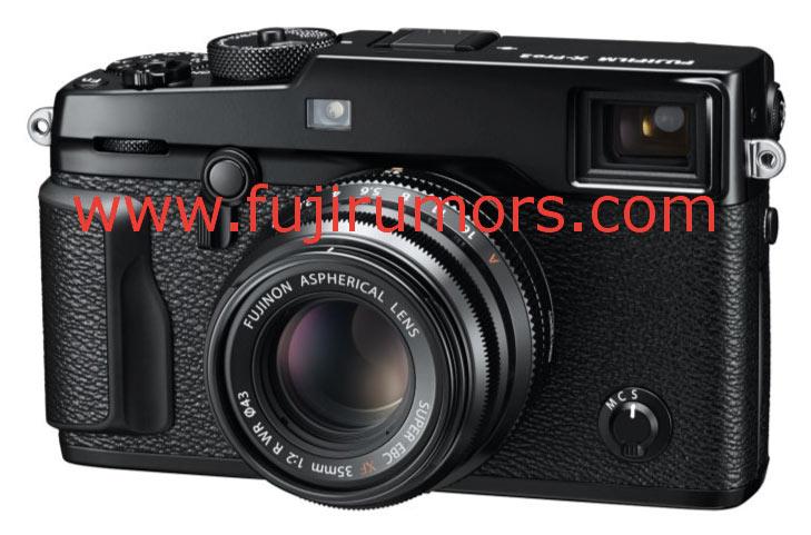 Появились первые изображения камеры Fujifilm X-Pro2