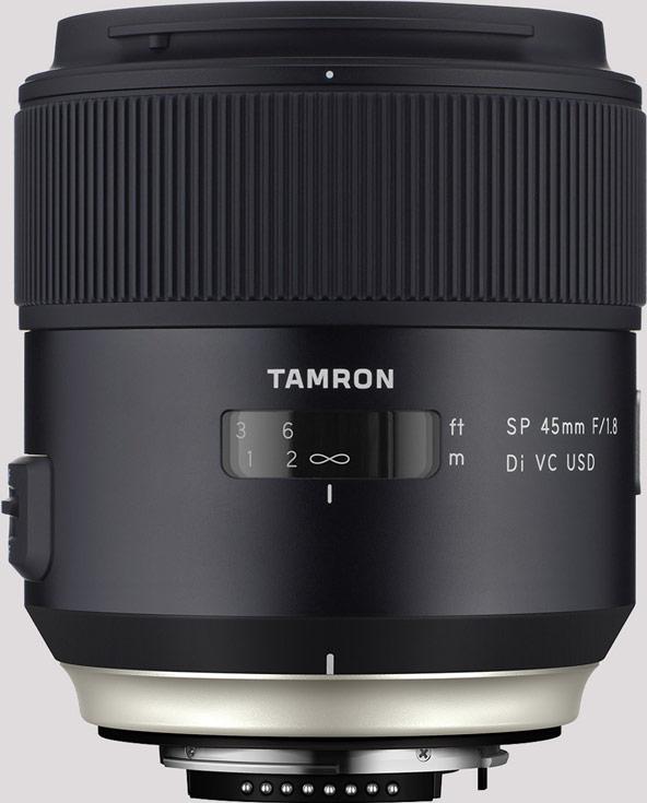 Представлен полнокадровый объектив Tamron SP 45mm F/1.8 Di VC USD (Model F013)