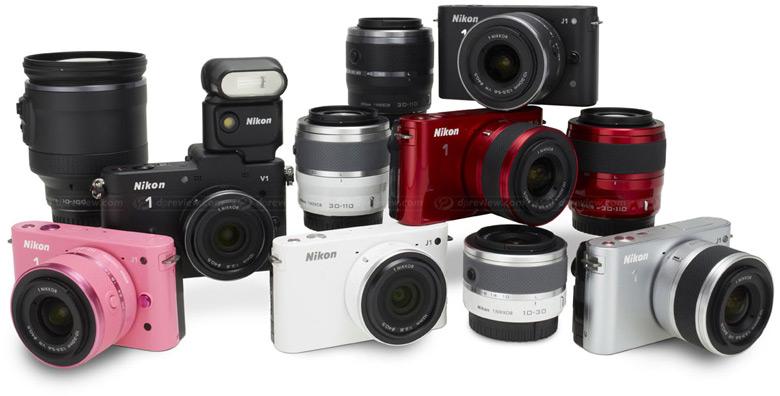 Камеры Nikon 1 AW и 1 V3 уже невозможно купить