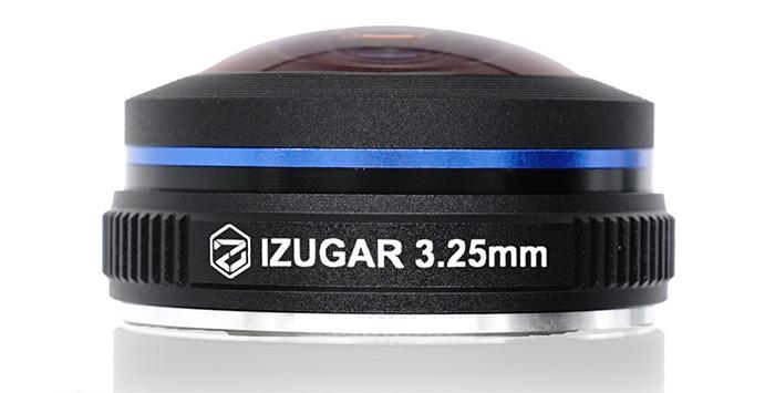 Угол поля зрения объектива iZugar MKX22 — 220°