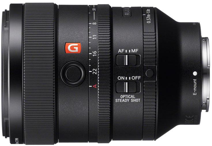В продаже объектив Sony FE 100mm F2.8 STF GM OSS должен появиться в марте по цене $1500