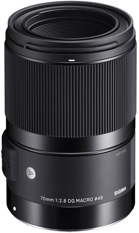 Кольцо фокусировки Sigma 70mm f/2.8 DG Macro | Art не имеет прямой связи с оптическими элементами