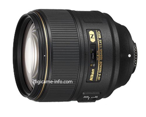 В Японии объектив AF-S Nikkor 105mm f/1.4E ED будет стоить примерно $2200 с учетом НДС