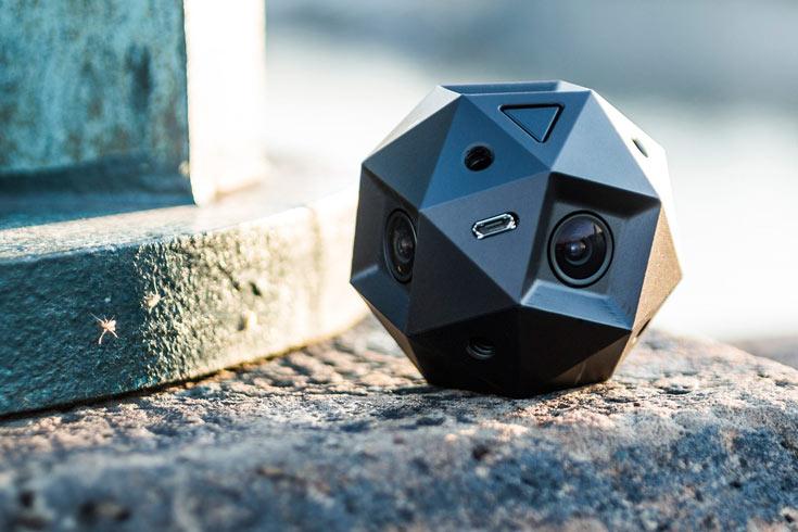 В камере Sphericam 2 используются датчики с глобальным затвором