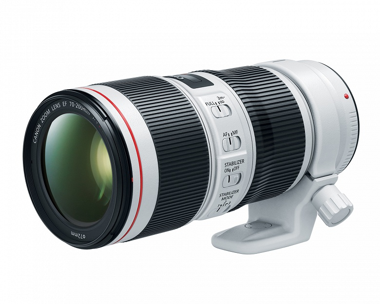 Стабилизатор объектива Canon EF 70-200MM F/4L IS II USM позволяет выиграть до пяти ступеней экспозиции