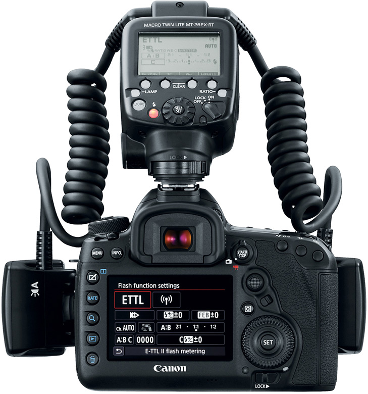 Продажи Canon Macro Twin-Lite MT-26EX-RT должны начаться в ноябре, по цене $990