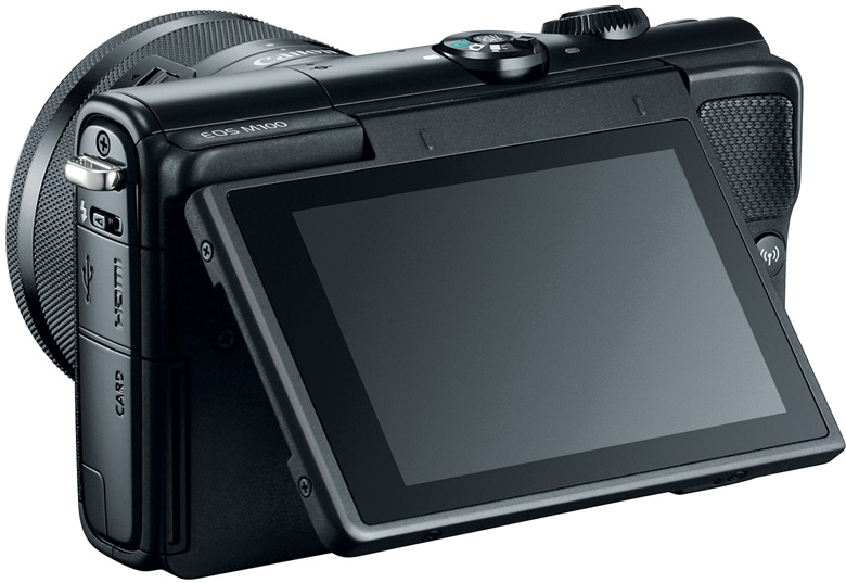 Продажи Canon EOS M100 должны начаться в октябре