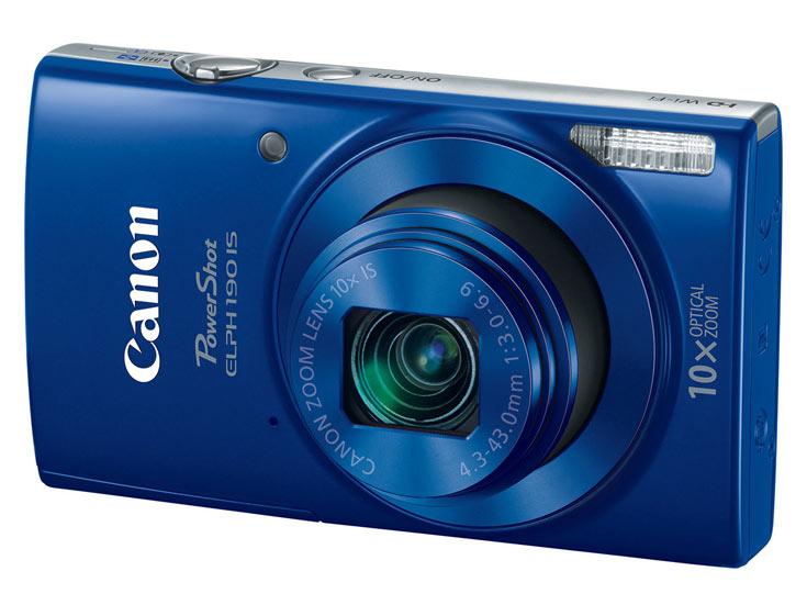 Представлены компактные камеры Canon PowerShot ELPH 360HS, ELPH 190 IS и ELPH 180