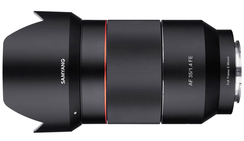 Продажи Samyang AF 35mm F1.4 FE должны начаться в ноябре