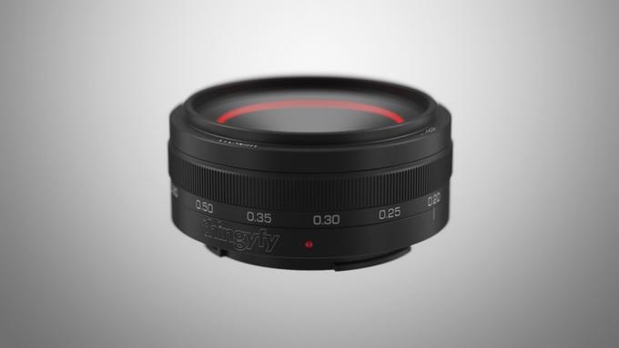 Угол поля зрения Pinhole Pro соответствует фокусному расстоянию 50 мм