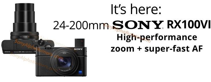 Изображение камеры Sony RX100VI с восьмикратным зумом появилось накануне анонса