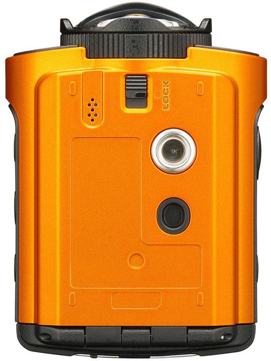 Камера Ricoh WG-M2 снимает видео 4K