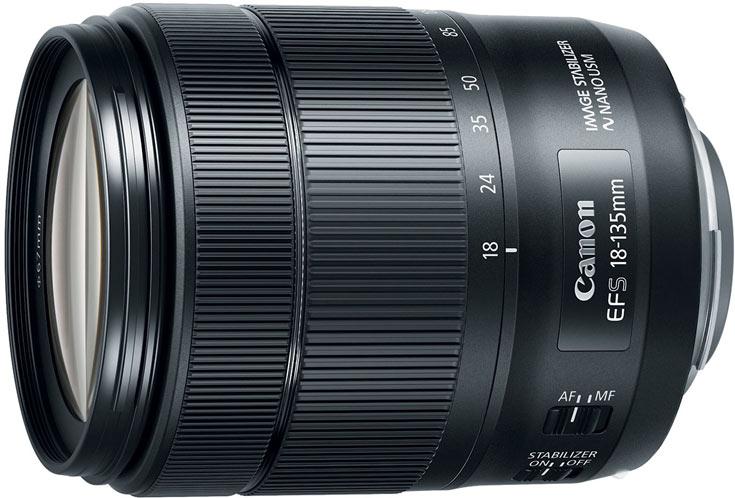 Объектив Canon EF-S18-135mm f/3.5-5.6 IS USM