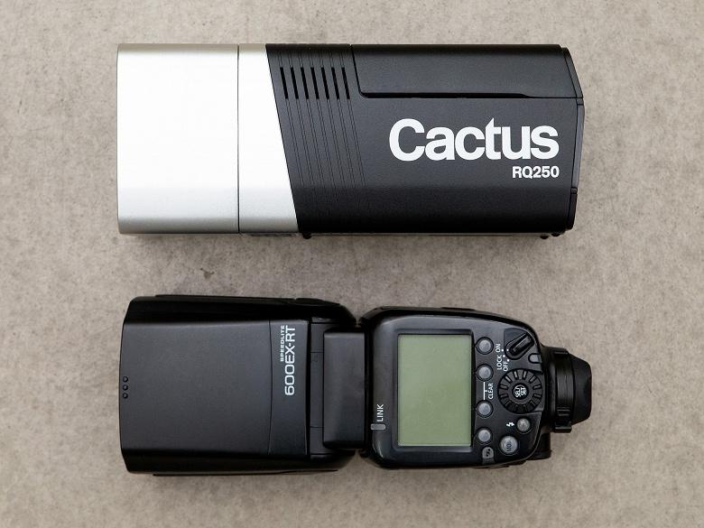 Cactus собирает деньги на выпуск беспроводной студийной вспышки RQ250