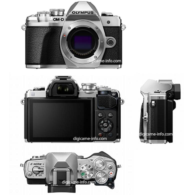 Появились подробные спецификации камеры Olympus E-M10 Mark III