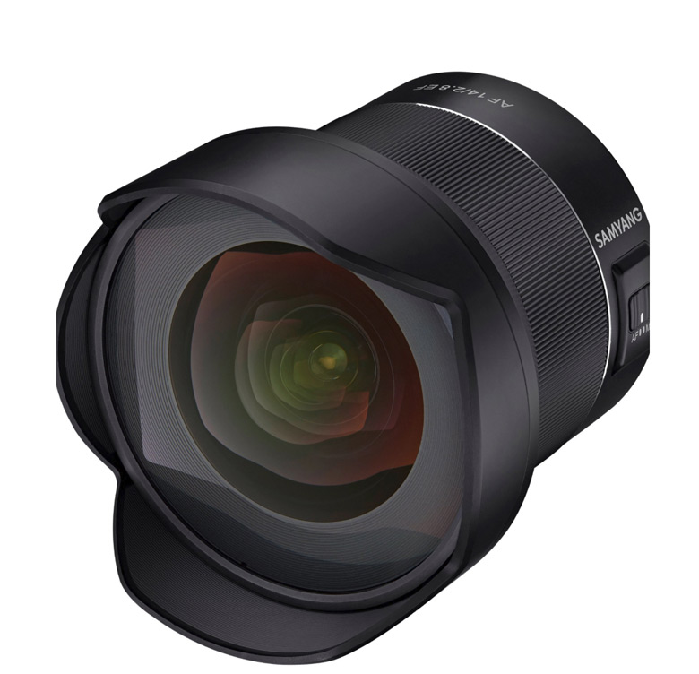Это будет первый автофокусный объектив Samyang с креплением Canon EF