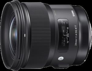 Sigma AF 24mm f/1.4 DG HSM ART
